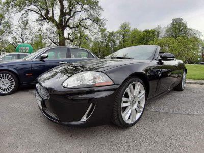 Jaguar XK XKR Cabrio Supercharged 510 koni 37 tys. km przebieg