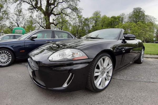 Jaguar XK XKR Cabrio Supercharged 510 koni